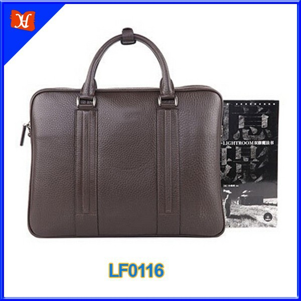 Casual Friday Messenger Briefcase man holding leather briefcase portfolio