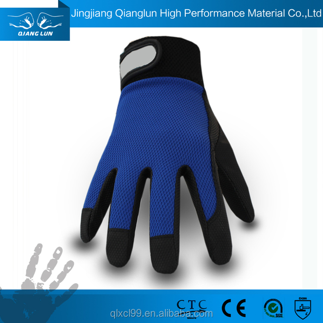 hand fit bicycle driver working glove cheap leather