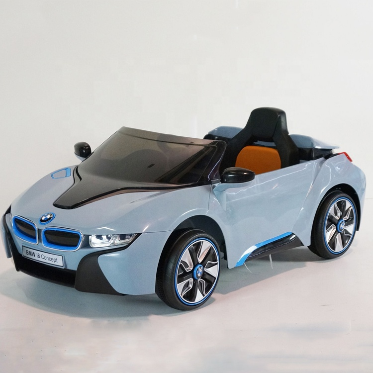 12v Rc Licensed Electric Car Toy Ride On Bmw I8 For Kids With 2 4g Remote Control