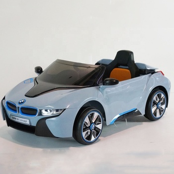12v Rc Licensed Electric Car Toy Ride On Bmw I8 Car For Kids With