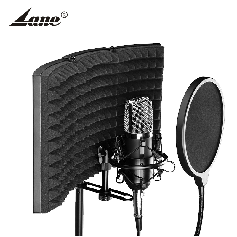 Studio microphone recording reflexion filter/Microphone Sound Isolation shield