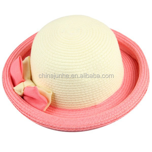 Hotsale mexican straw hats breathable coffee fedora straw hat with ribbon Summer cool strawhat