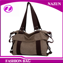korean style fashion women canvas hobo and shouder bags