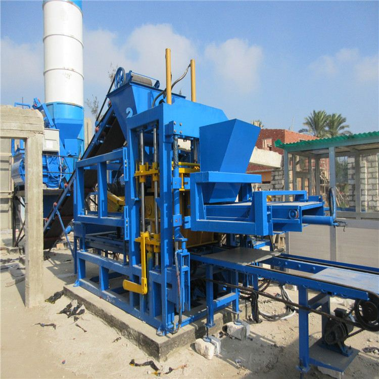 QTY6-15C automatic construction machinery manufacturer / brick making mold / Equipment for the production of bricks