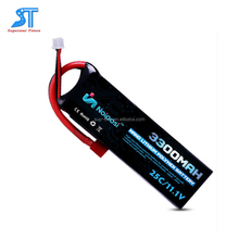 Hot selling high discharge rate 25C 11.1v 3300mah RC lipo battery 3300mah for RC products