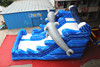 giant inflatable slide, titanic china dolphin inflatable slide for kids