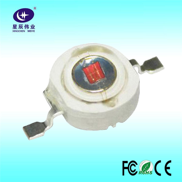 China wholesale high power COB led 1W infrared 850nm lamp bead with Epistar for CCTV camera