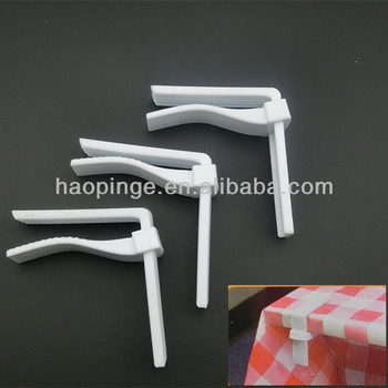 6 Pieces Adjustable Picnic Tablecloth Clamps Set