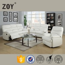 lazy boy upholstery leather Home furniture recliner modern design beds sofa ZOY 9149A