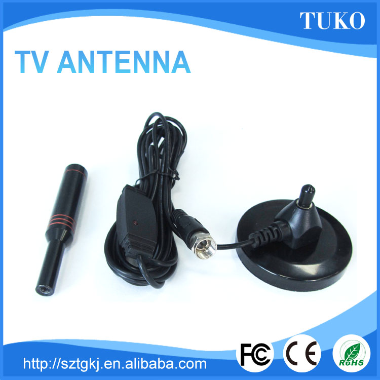 Mobile TV patch 16DBI dvb-t vhf/uhf tv antenna