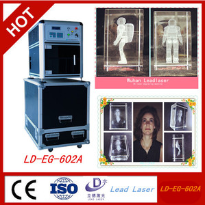 business gift 3D crystal laser engraving machine