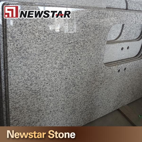 Newstar goedkope prefab bala bloem wit graniet keuken aanrecht werkbladen ijdelheid tops - Kleine ijdelheid ...
