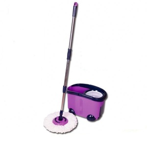 Twist mop with spin bucket magic lazy mop magic mop with bucket