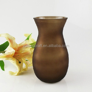 Different Types Glass Vase Vases For Graves The Hand Painted Vase