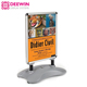 Portable wheeled waterproof aluminum sidewalk sign / outdoor pavement sign / advertising poster board