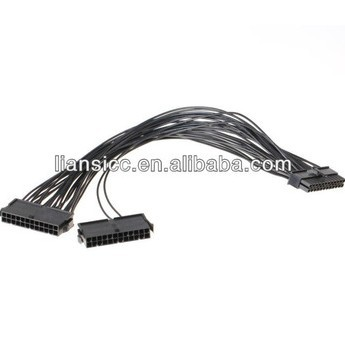 Dual PSU ATX 24 Pin Cable for Litecoin and Bitcoin Mining rigs