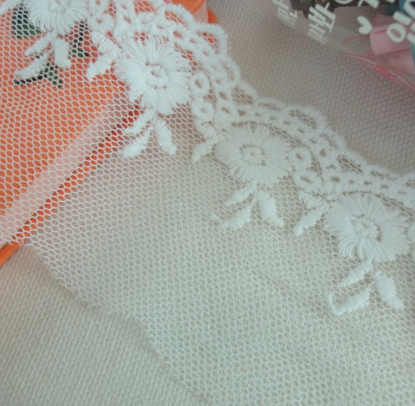 // lace applique // fancy lace For making dress //