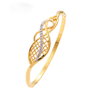 xuping wholesale jewelry noble dubai gold plated jewelry bangle for women