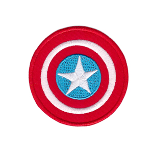 NEW ARRIVE AMERICA CAPTAIN LOGO COMICS Iron On Patch/TV Movie Cartoons