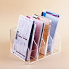 office supplies plastic acrylic desk organizer