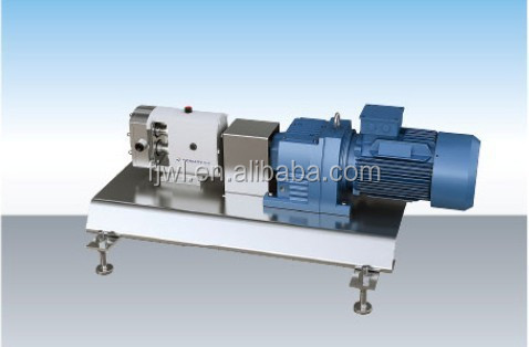 304 and 316L material sanitary pharmaceutical steel lobe pump, rotor pump