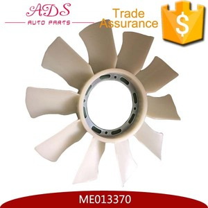 Diesel Engine 4D34T Plastic White Fan Blade For Canter OEM:ME013370