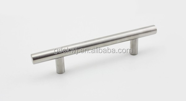 wholesale chrome wardrobe drawer stainless steel cabinet handle  furniture double sided door pull handle kitchen cabinet pulls