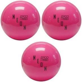 EPCO Neon Candlepin Bowling Ball- Neon Hot Pink triple Ball