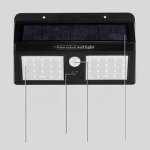 Heißer stil 12 w Double head outdoor Hof Villa led solar motion wasserdichte sensor wand <span class=keywords><strong>licht</strong></span>