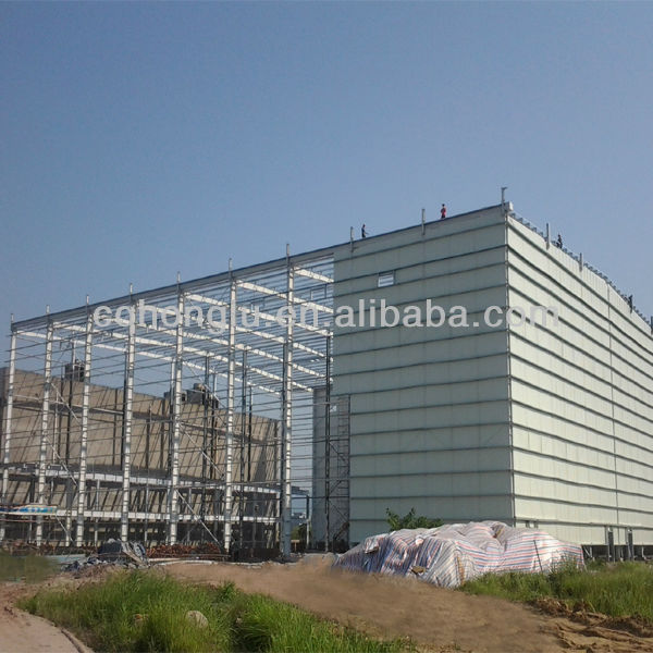 Steel Building Structure Real Estate