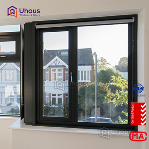 High quality schuco windows black aluminum window price for nepal market