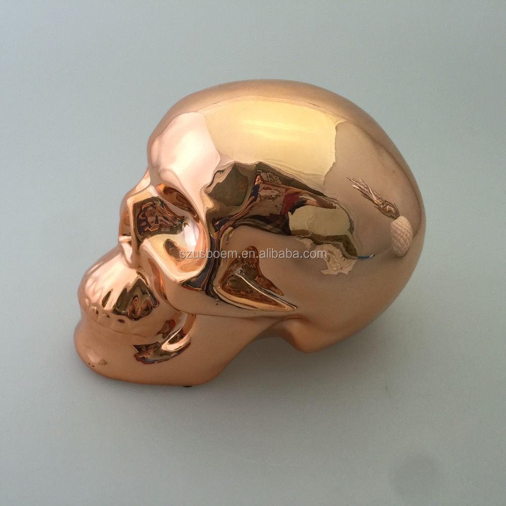 Metal skull elephant Usb key flash drive