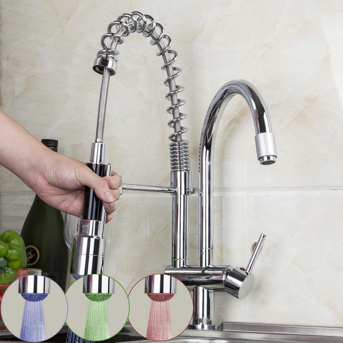 Kitchen Sink Mixer Taps  Hole