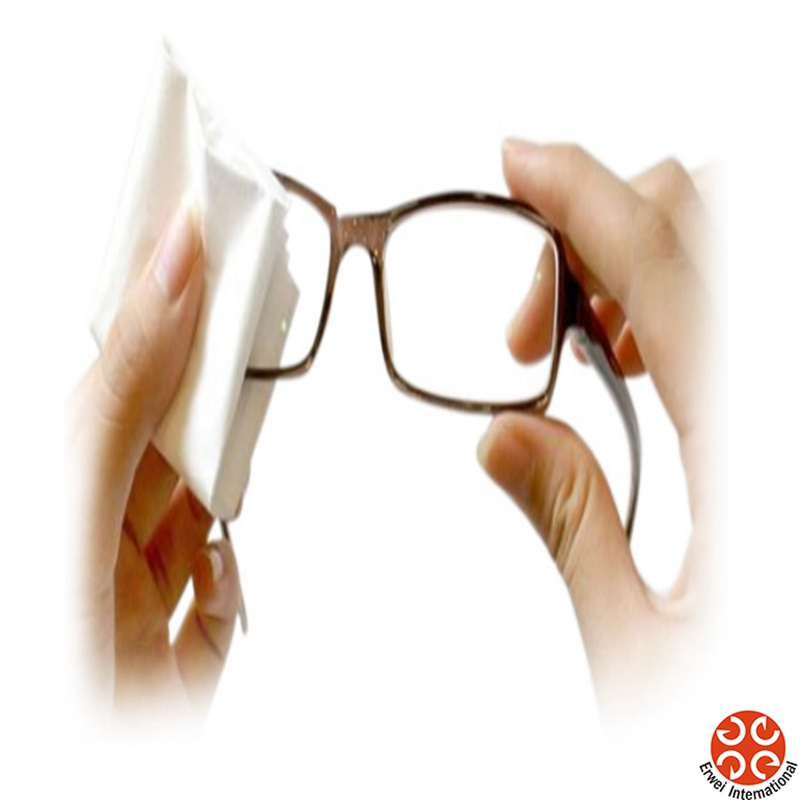 Glasses Cleaning Wet Tissues Optical Wet Wipes