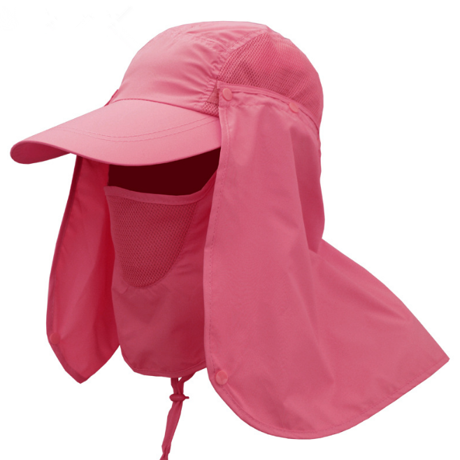 Multi function Stock Sunhats 360 Degree UV Resistant Cap Removable <strong>hat</strong> for Farming fishing outdoor sports