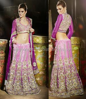 142b75b2b54e7 WHOLESALE INDIAN HEAVY LOOK BRIDAL LEHENGA-WEDDING WEAR LEHENGA -BOLLYWOOD  FANCY DESIGN LEHENGA