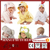 High Quality Hooded Animal Modeling Baby Bathrobe&Cartoon Baby Towel/ Kids Bath Robe