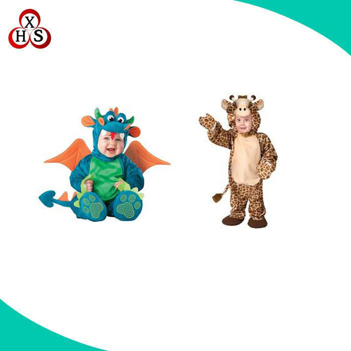 Cartoon character deer dragon mascot costumes,kids animal costumes