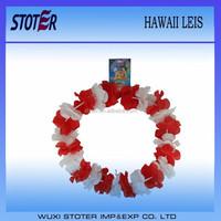 wholesale promotion hawaiian flower leis