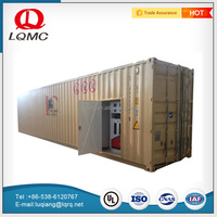 Reasonable price mobile fuel container station service station equipment