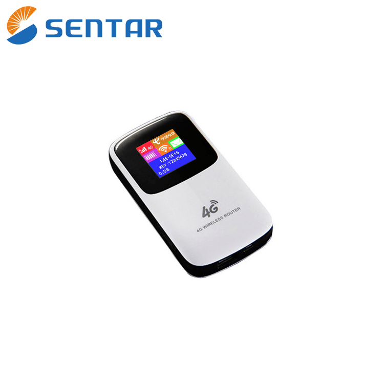 4g lte sharing dock router 150Mbps Cat 4 LTE Mobile WiFi Hotspot Network flow Controllable OLED Display Screen Power Bank Router