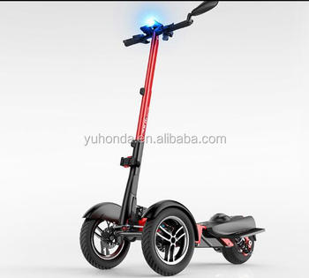 Folding Electric Scooter >> 2018 Hot 3 Wheels Folding Electric Scooter Portable Electric Scooter