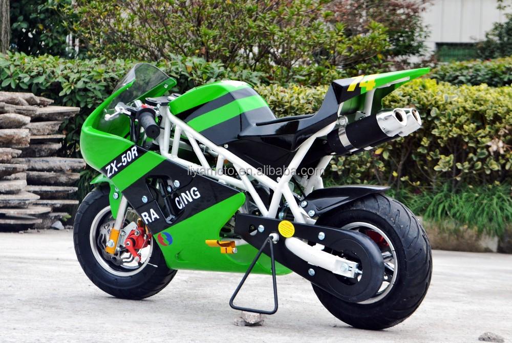 seilzugstarter 49cc gas mini pocket bike f r kinder. Black Bedroom Furniture Sets. Home Design Ideas