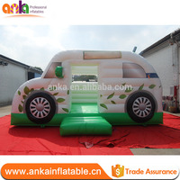 Best price car shaped inflatable jumper bouncer with warranty 2 years