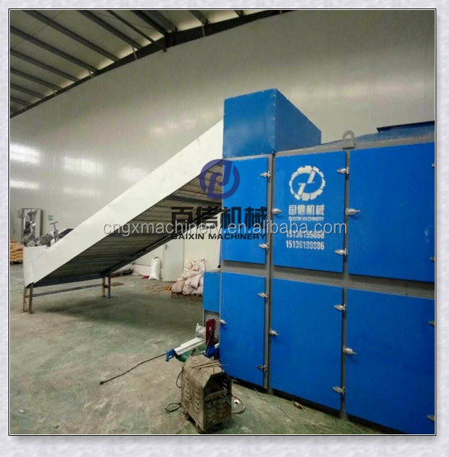 industrial hot air heating dry tunnel drying oven mesh conveyor belt dryer machine drier
