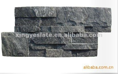 top quality slate culture stone wall tile