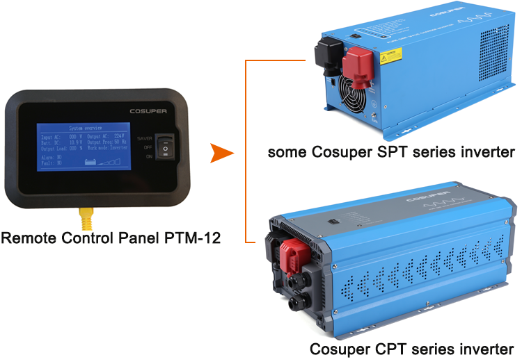 SPT series 6000w pure sine wave inverter