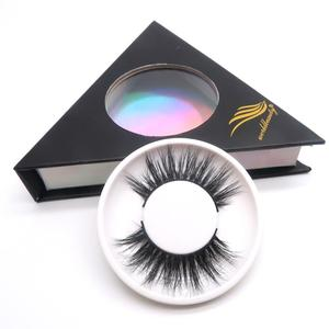 qingdao wholesale price 3D 100% mink eyelashes, private label lashes