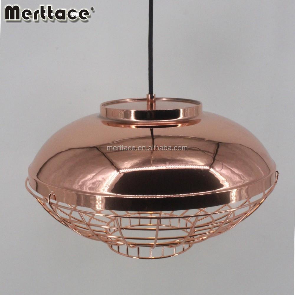 E27 lamp holder hat shape modern vertigo pendant light friture light