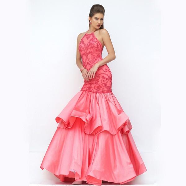 Sexy vestido de bola puffy vestidos de la madre de la novia vestido ...